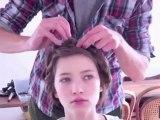La natte couronne - la leçon de Fred - tuto coiffure