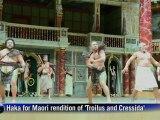 Maori haka kicks off London Shakespeare festival