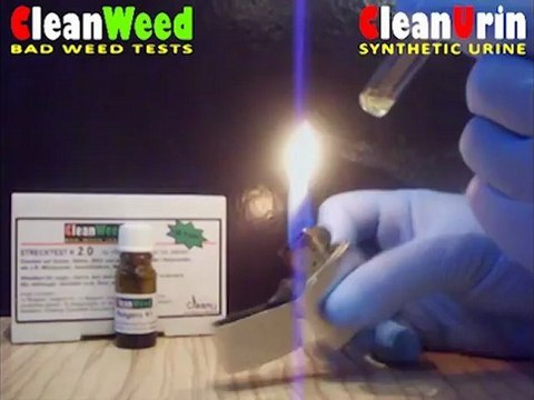 CleanU CleanWeed Strecktest (contaminationtest) Anwendungsvideo (application video)