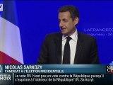 Quand Sarkozy salue ses spectateurs... qui n'existent pas