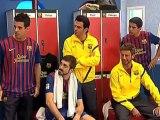 TV3 - Crackòvia - Iniesta anima el vestidor blaugrana