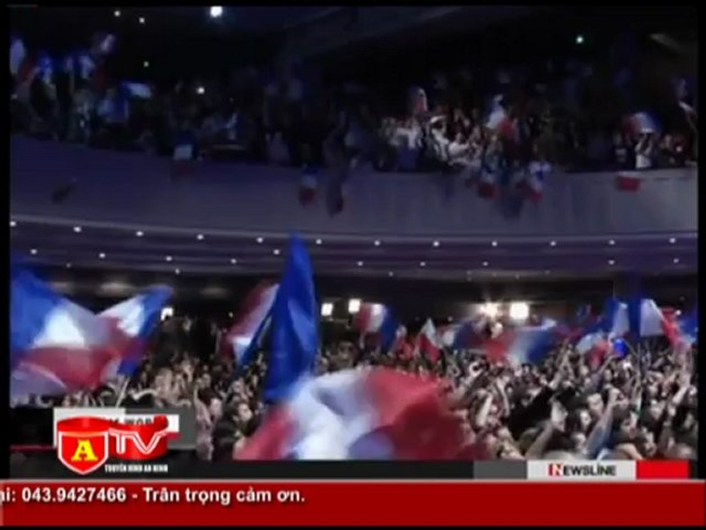 ANTÐ - Ông Hollande dẫn đầu vòng bầu cử tổng thống đầu tiên tại Pháp