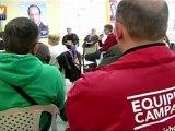 Porte à porte pour François Hollande à Alès - Reportage BFMTV
