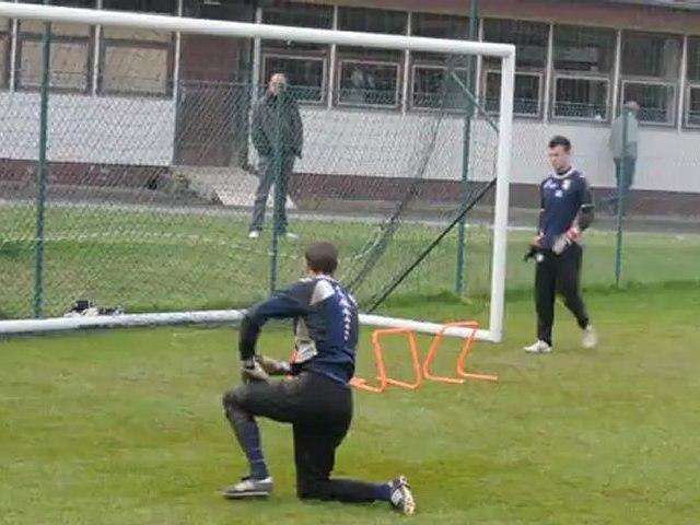 ETG FC : Bertrand Laquait de retour à l'entraînement des gardiens !