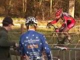 TELETHON 2011 : cyclo-cross, saut d'obstacle à pied de vélo et crêpes party à Buhl (Haut Rhin - 68)