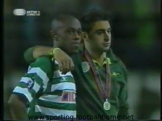 Reportagem no Final do Jogo - Sporting - 1 CSKA Moscovo - 3 de 2004/2005 Final