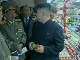 North Korea's Kim Jong-un visits North Korean supermarket