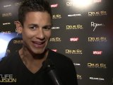 Twilight's Bronson Pelletier parties & hangs with Nightlife Television at Deus Ex Video Game Launch Party