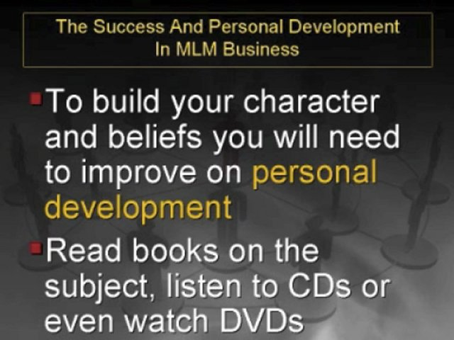 The Success And Personal Development In MLM Business