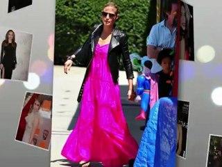 Stars im sommerlichen Maxi-Kleid