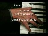 LALO LE FAUNE, pour piano par Omar Yagoubi