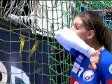 Pénalty Gardienne de but Palinger / Györ-Békéscsaba / Handball Féminin Hongrie