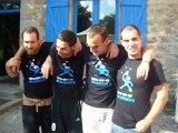Anniversaire de Julien, Julien, Kian et Simon
