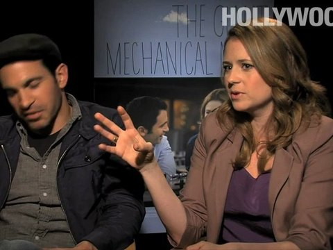Jenna Fischer Giant Mechanical Man 042312 YT