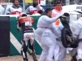 Plusieurs chutes en Moto 3 à Jerez (2012)