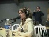 Clémentine Célarié sur Radio Hollande à Bercy