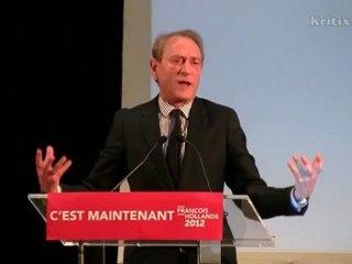 Présidentielle 2012 : portrait de François Hollande par Bertrand Delanoë