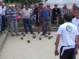 21/08/2011 - Concours de boules plombées à Saint Jean du Doigt
