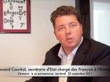 Agnetz - Le Clermontois a son Secrétaire d'Etat - Edouard Courtial