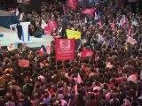 """Le """"deuxième"""" discours de F. Hollande à Bercy"""
