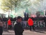 ASSE DIJON mobilisation green angels magic fan