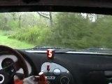 Rallye du Quercy 2012 - Prologue - Grosse Frayeur - Lamouret / Delpech Saxo Vts