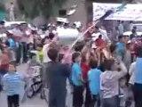 فري برس حلب  تل رفعتت مسرحية الذكرى السنوية لثورة تل رفعت 29 4 2012 ج1 Aleppo
