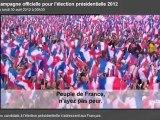 CAMPAGNE PRESIDENTIELLE 2012: NICOLAS SARKOZY FRANCOIS HOLLANDE