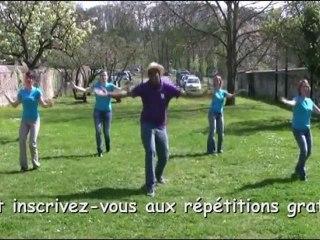 Flash Mob ville de Breuillet
