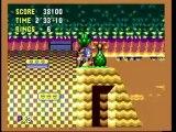Classic Game Room : SONIC CD review for Sega CD