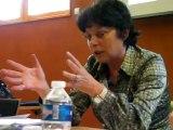 Michèle Rivasi, députée européenne, présente le Club Europe Sud Rhône-Alpes