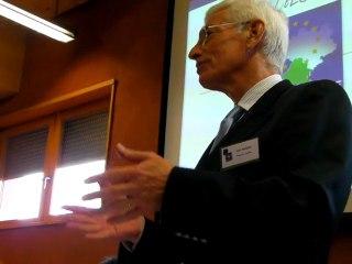 Joël Roques, président de la CCI de la Drôme, présente le Club Europe Sud Rhône-Alpes