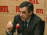"""François Fillon : """"Nous devrions éviter les remarques désagréables sur les syndicats"""""""