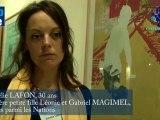 """LAFON Amélie - Arrière petite fille Léonie et Gabriel MAGIMEL  """"Justes parmi les Nations"""""""
