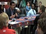 Dibattito sul multiculturalismo 8di34, Carlo Melegari e Abdelghani Ziani
