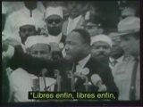 Martin Luther King I have a dream (sous-titres français)