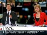 Quand Sarkozy salue des spectateurs qui n'existent pas