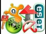 keys for antivirus ESET NOD32, AVAST, Kaspersky, Avira and Dr.Web