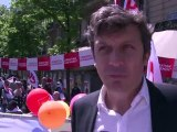 Intervention de David Assouline lors de la manifestation du 1er Mai