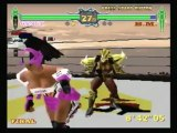 Classic Game Room - FIGHTING VIPERS for Sega Saturn review