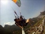 Paragliding in Rio, em protuguês:  Parapente no RJ.