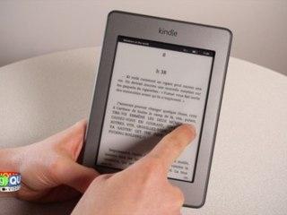 Kindle Touch - Prise en main