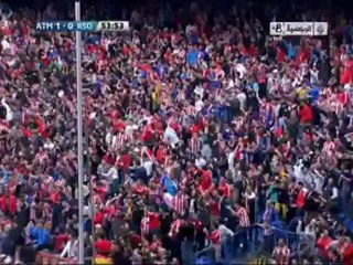 Гол Габи Фернандес Аренас · Атлетико (Мадрид) - Реал Сосьедад (Сан-Себастьян) - 1:0