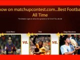 Pele Vs Lionel Messi Vs Diego Maradona
