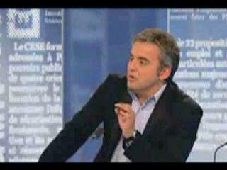 Alexis Corbière sur BFM face à B. Debré (UMP)