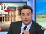 Itw de Ségolène royal sur fr2 (Avant débat Hollande/Sarkozy) 02/05/2012