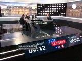Sarkozy ile Hollandeson kez kozlarını paylaşıyor