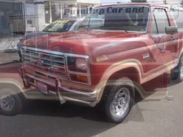 1986 Ford Bronco Puyallup WA – by EveryCarListed.com