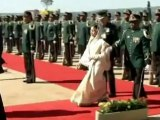 South Africa welcomes India's President