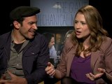CHRIS MESSINA, JENNA FISCHER GET CANDID IN GIANT MECHANICAL INTERVIEW